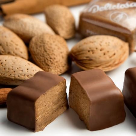 Deliciosas bañadas de chocolate