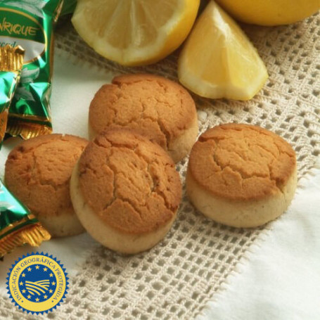 Mantecado de limón de Estepa con denominación de origen
