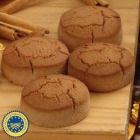 Mantecado de cacao de Estepa con denominación de origen